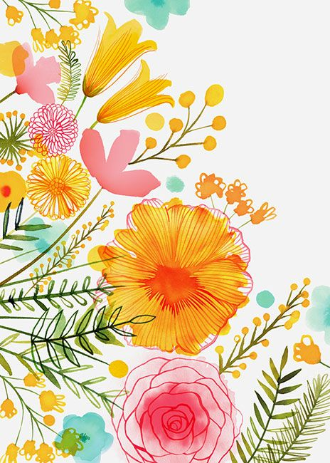 Margaret Berg Art: Pastel+Florals
