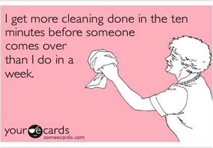 I get more cleaning done in the ten minutes before someone comes over than I do in a week.  Xtreme Services Cleaning & Restoration in Shelby Township, MI can help you with all of your household and commercial needs!  Give us a call at (586) 477-9496 to schedule an appointment or visit our website www.xtreme-servicesinc.com for more information!