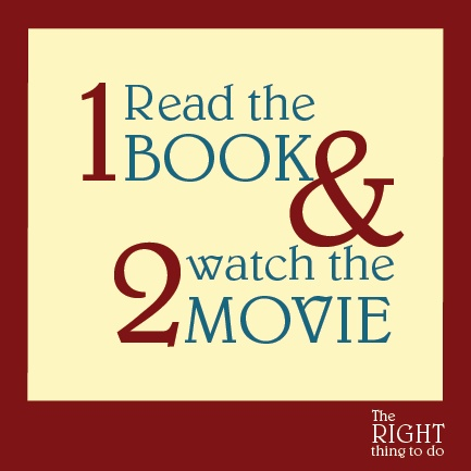 first read the book and second watch the movie