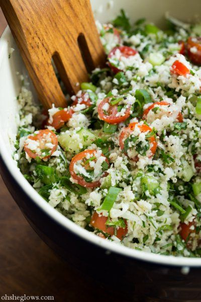Detox Tabbouleh by Oh She Glows Can't wait to try this ~ it's better than it sounds...especially mixed with hummus on delish crackers as per creator...