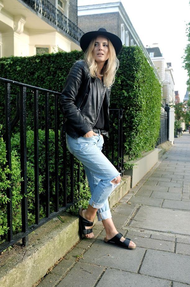 Birkenstock, Fashion Guitar, Denim, Leather
