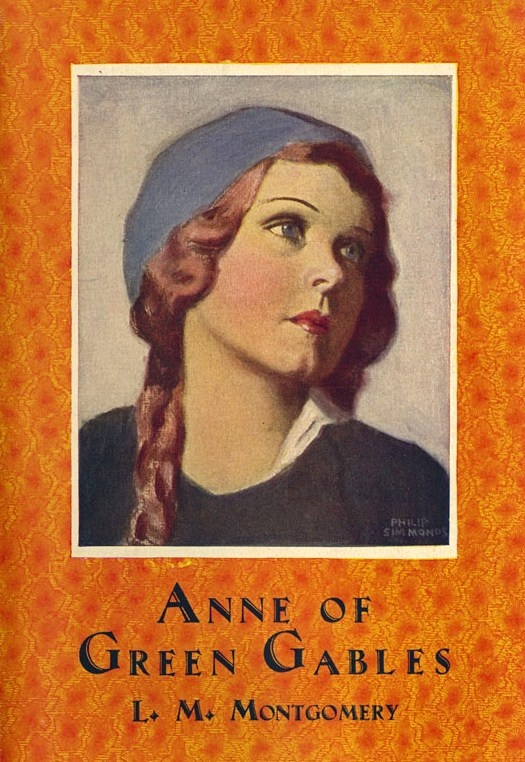 vintage Anne of Green Gables book cover