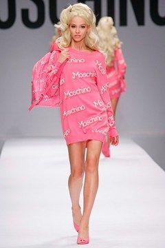 Moschino Barbie theme spring 2015