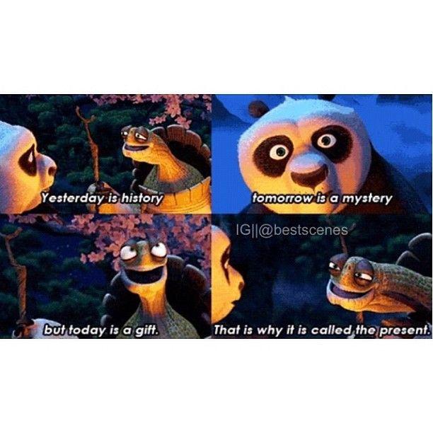 Kung fu panda. Love this quote