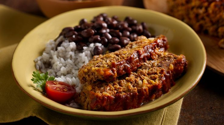 Yes!  Try this flavorful Mexican twist as an alternative to a traditional meat loaf dinner. You'll love the roasted tomato flavor and spice the Old El Paso® Mexican Cooking Sauce provides.