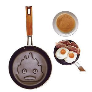 Howl'S Moving Castle Calcifer Frying PAN Studio Ghibli Cooking Kitchen Tools | eBay ($70.00) - Svpply