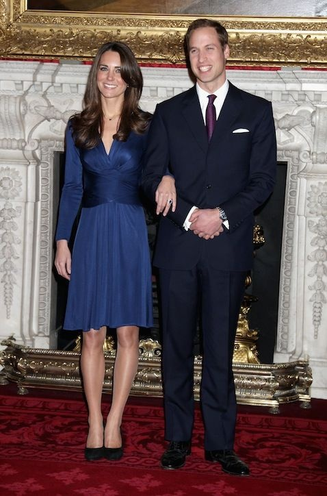 Kate Middleton's Blue Issa Dress Almost Led The Designer To Bankruptcy!