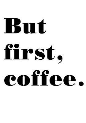 first, coffee! Always enjoy your cup of coffee. It helps to wake your senses. Have a good evening. Incensewoman