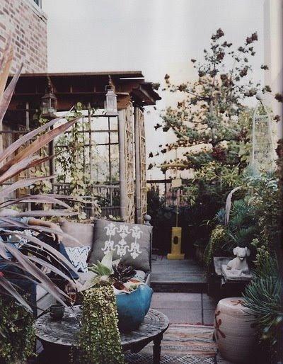 stile Bohemien per l'outdoor
