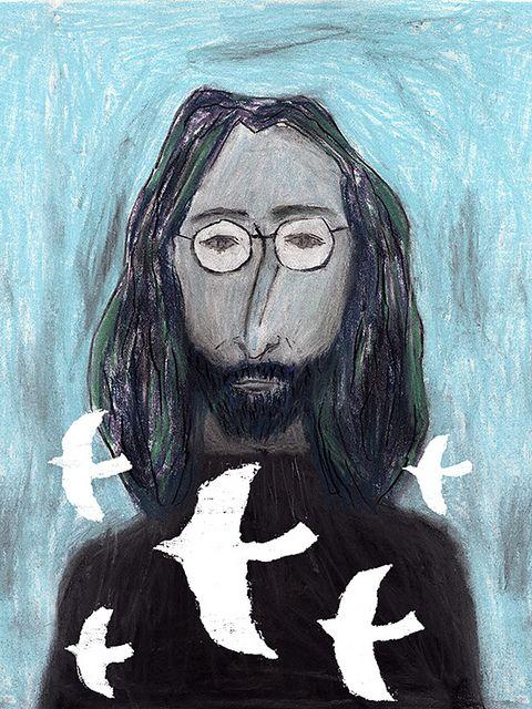 Jhon Lennon by wakatetsu, via Flickr