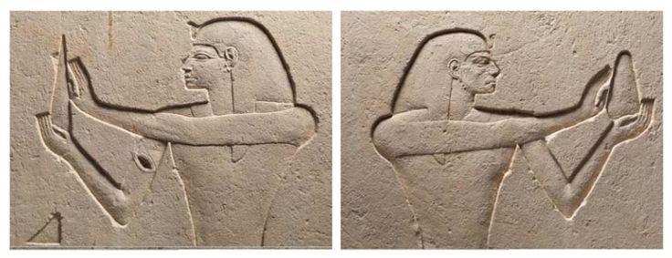 Détails. Musée du Louvre, département des Antiquités égyptiennes © 2013 Musée du Louvre/Christian Descamps