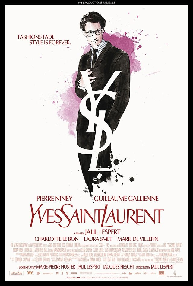 A new movie: Yves Saint Laurent