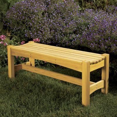 Garden Bench Plans Woodworking