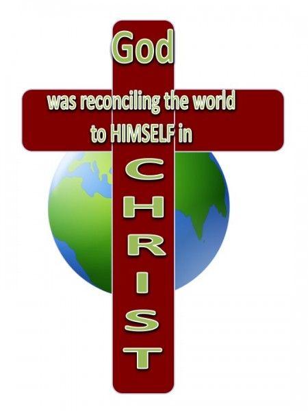 God reconciling man