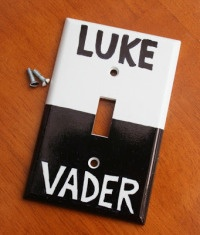 Go to the dark side or to the light!  This just made me laugh!