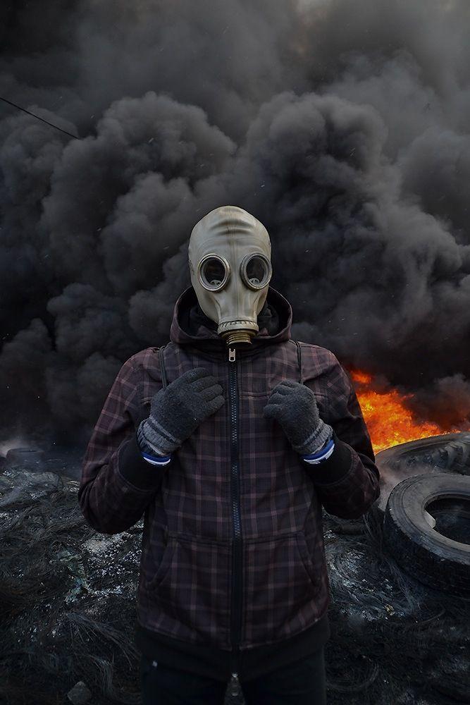 Riots in Kiev