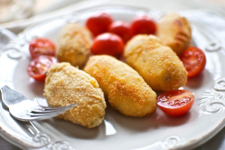 Guiomar Molina Rivillas:  Croquetas caseras de jamón y pollo