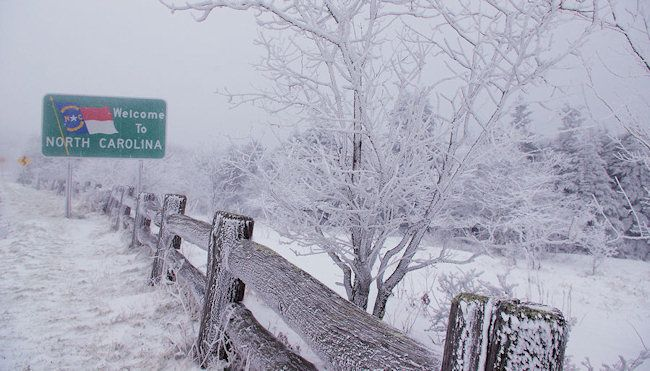 Image result for nc snow