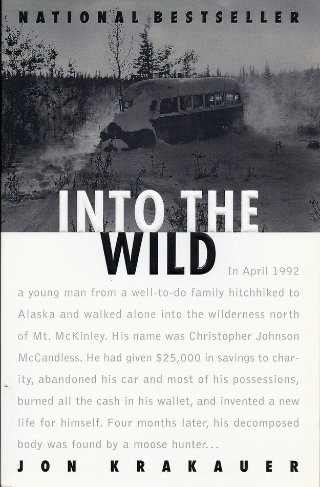 Jon Krakauer, Into the Wild | The Ultimate U.S. Road Trip Reading List