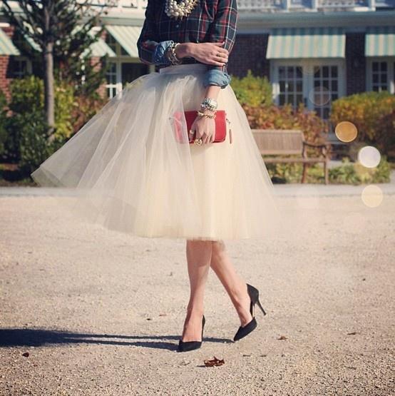 **Tulle skirt <3** Blair Eadie