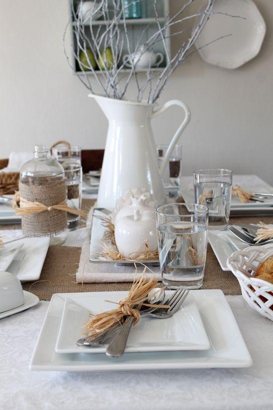 Come creare un rustico tablescape Inverno