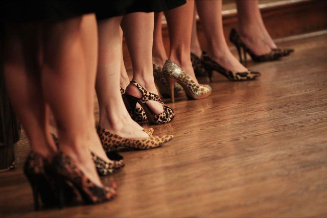 animal print, heels, bridesmaids, nashville, wedding