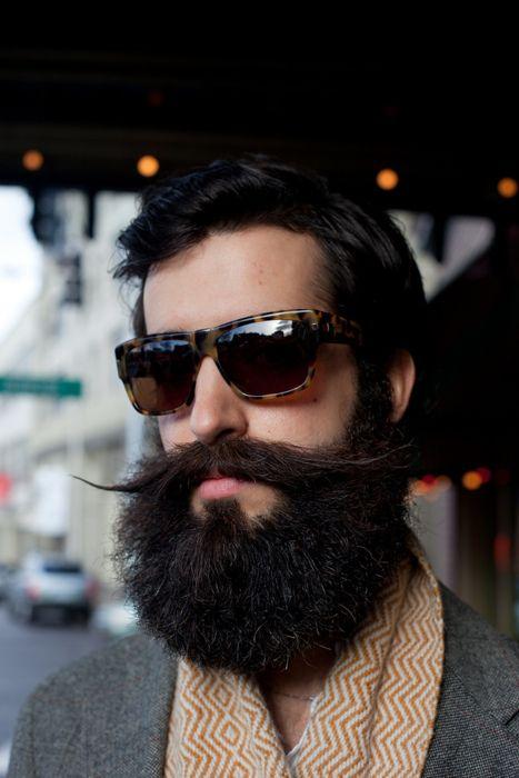 Grosse Barbe de hipster