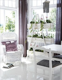 decorate with a ladder