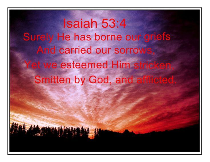 Isaiah 53:4