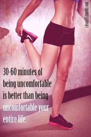 30-60 Minutes Of Being Uncomfortable Is Better Than Being Uncomfortable Your Entire Life!  Come to Body Morph Gym in Ferndale, MI for all of your fitness needs!  Call (248) 544-4646 TODAY to schedule an appointment or visit our website www.bodymorph.net for more information!