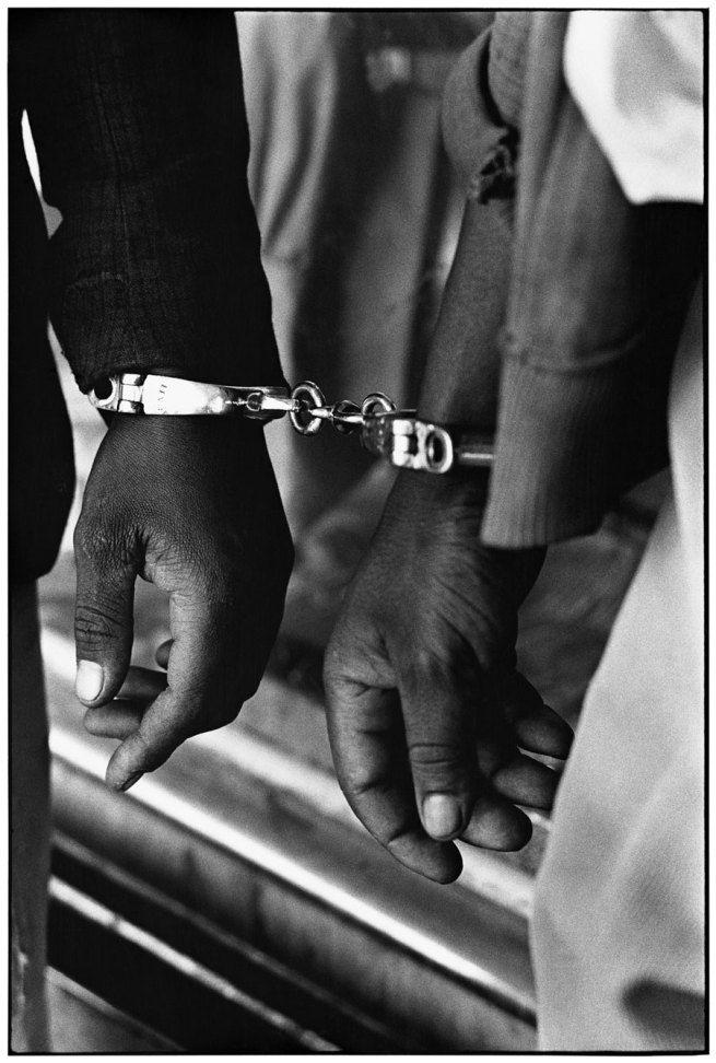 Ernest Cole (1940 – 1990) Handcuffed blacks were arrested for being in white area illegally South Africa 1960-1966