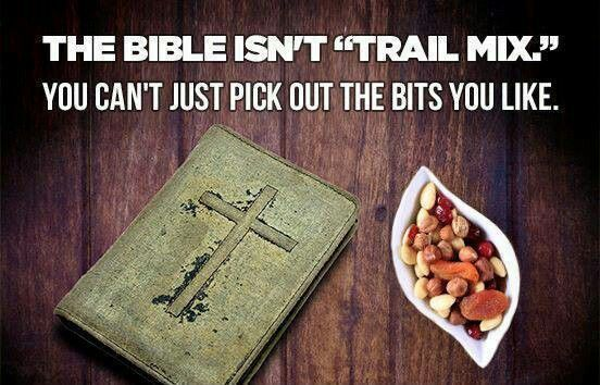 Image result for bible pick and choose