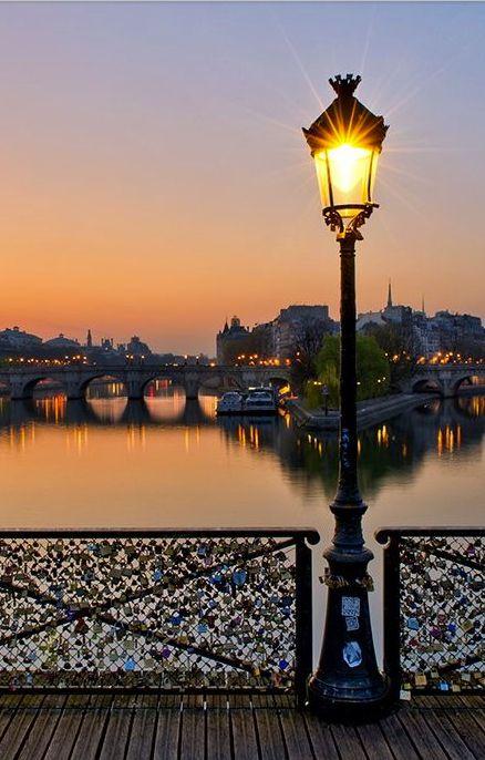 Pont des Arts or Passerelle des Arts is a pedestrian bridge in Paris which crosses the Seine River.
