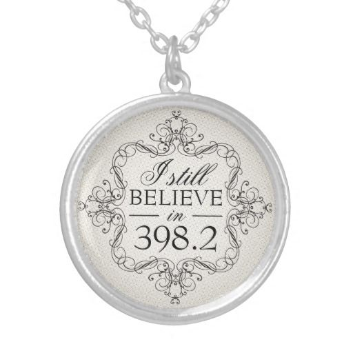 I still believe in 398.2 pendant