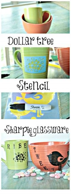 Rise N' Shine another sharpie idea - Debbiedoo's