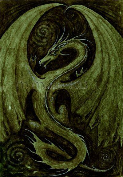 Earth Dragon by Ashenhrefn at Epilogue