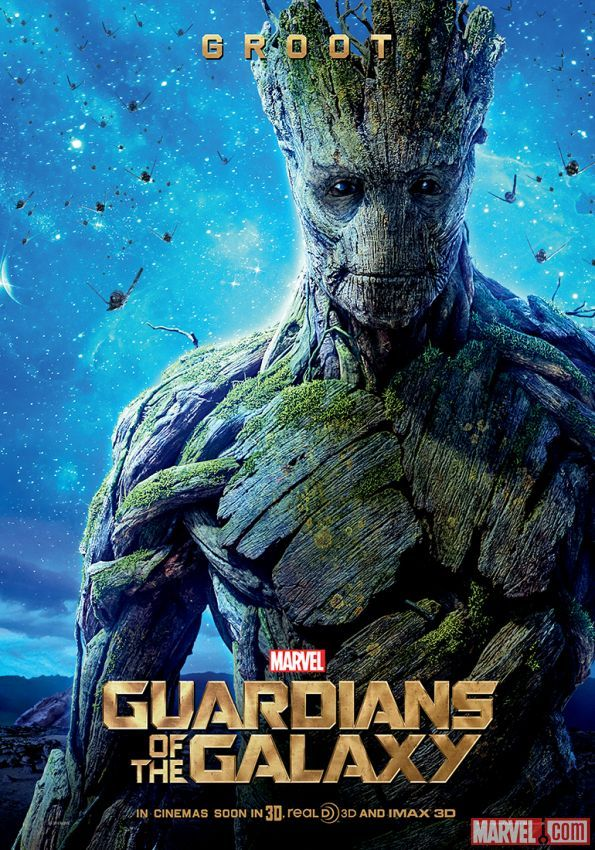 "Groot international poster for Marvel's ""Guardians of the Galaxy"""