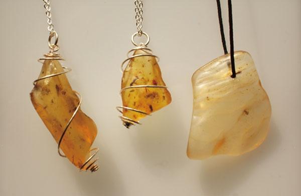 Magic Amber Protection Pendants