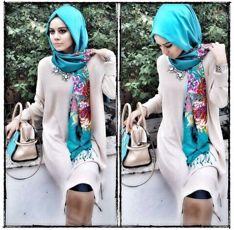 Muslimah & Hijab fashion - so modern and understate - I love it.