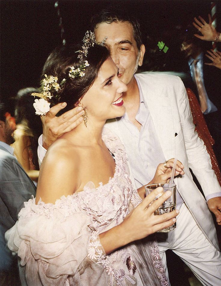 Marghertia Missoni's Wedding Day
