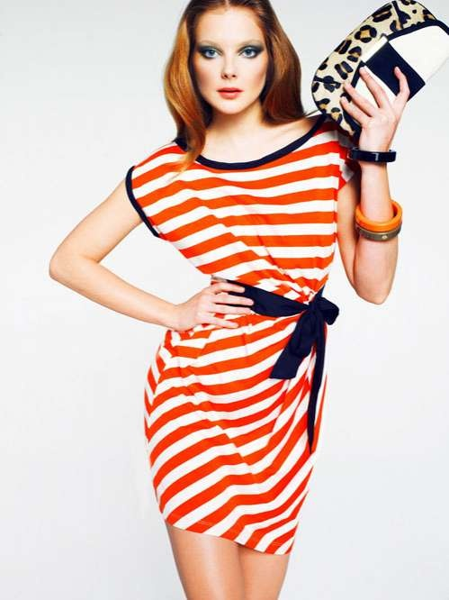 Striped Color-Blocked Fashion - The Mango Color & Stripes Lookbook is Nautical and Bright (GALLERY)