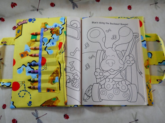 blues clues take everywhere coloring book by doodlestitches 15 00