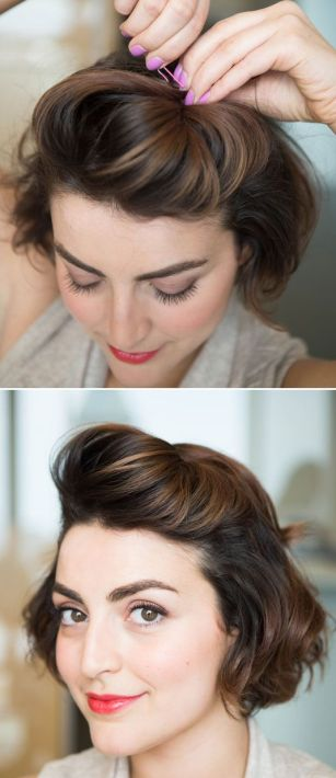 Short Hairstyle Hair Hacks - Tricks for Styling Short Hair - Cosmopolitan
