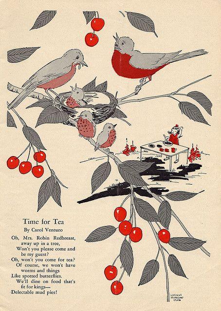 time for tea poem by Millie Motts, via Flickr