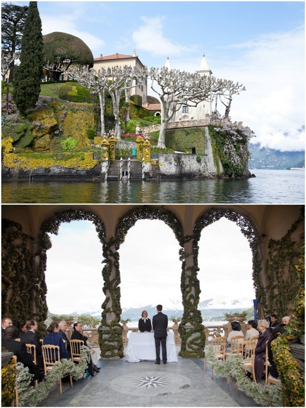 Villa del Balbianello Lake Como Wedding