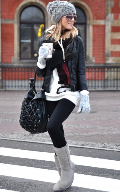 Perfect comfy outfit for winter.
