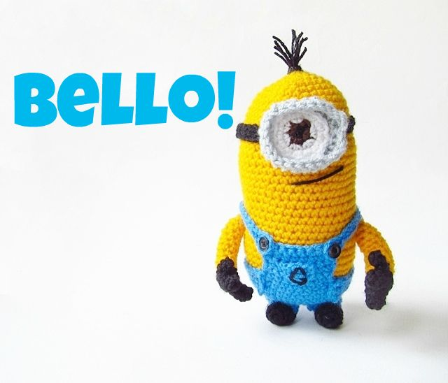 Amigurumi Despicable Me Minion - FREE Crochet Pattern / Tutorial @dotti C C C McCoy