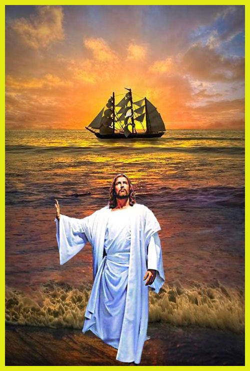JESUS AND BOAT