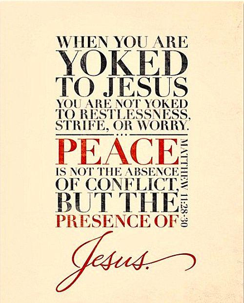 jesus restores Matthew 11:28-30