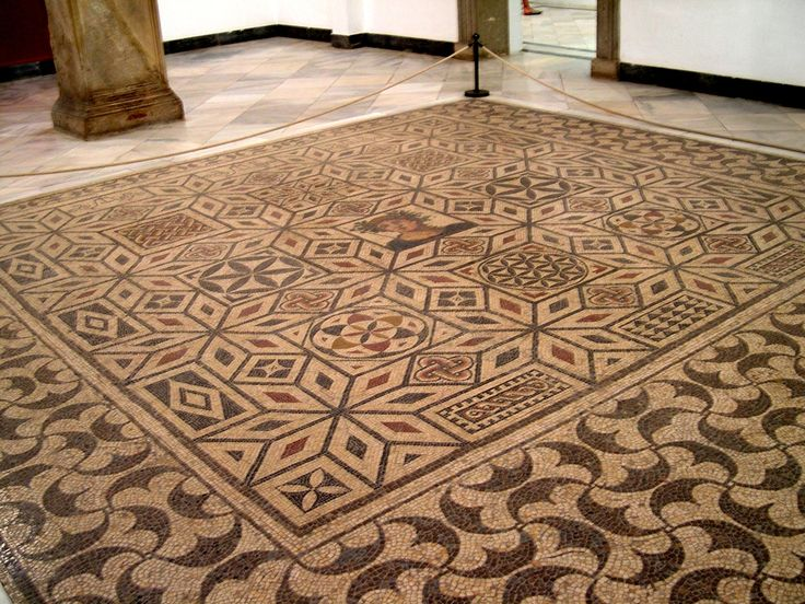 Mosaic floor in Seville